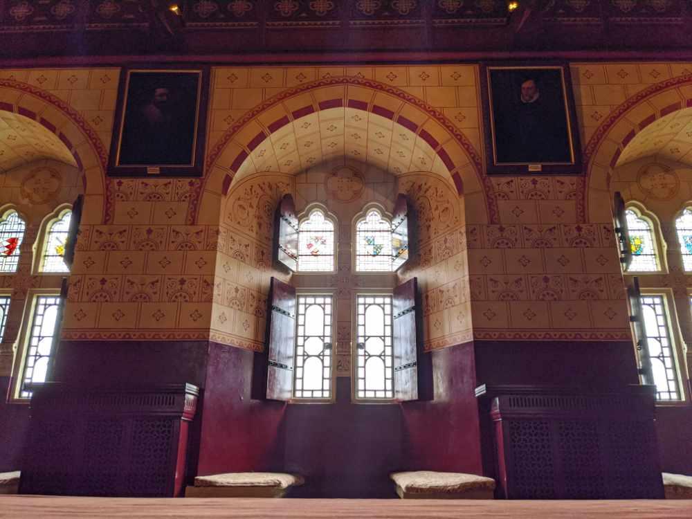 Window inside Castell Coch