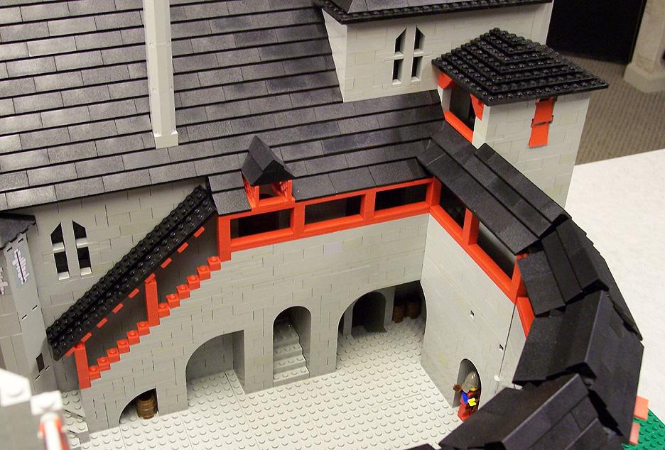 Lego model of Castell Coch