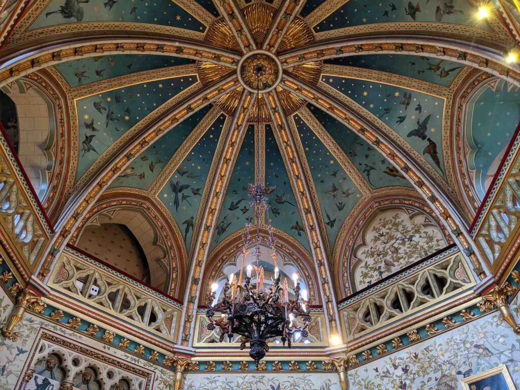 Ceiling in Castell Coch