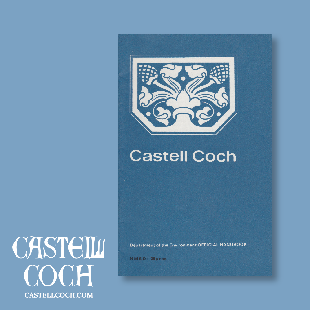 Old guidebook for Castell Coch
