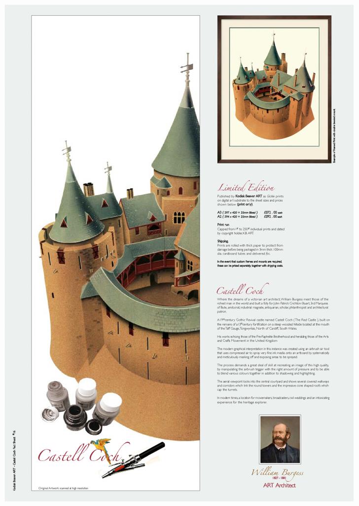Illustration of Castell Coch