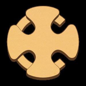 Illustration of old Cadw logo