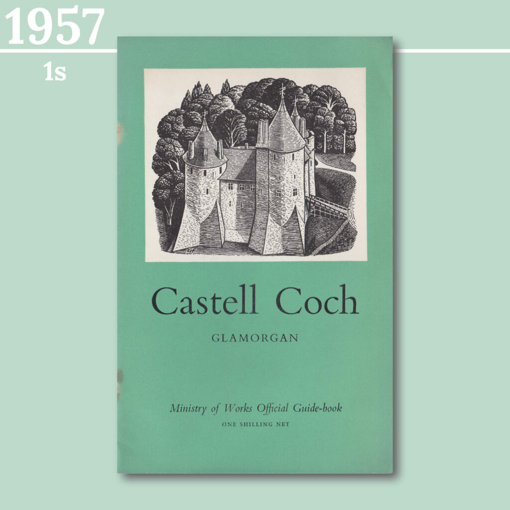 Castell Coch guidebook from 1957