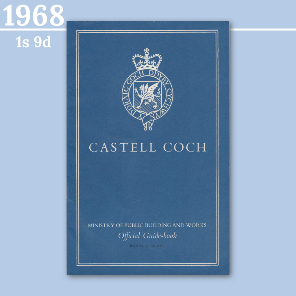 Castell Coch guidebook from 1968