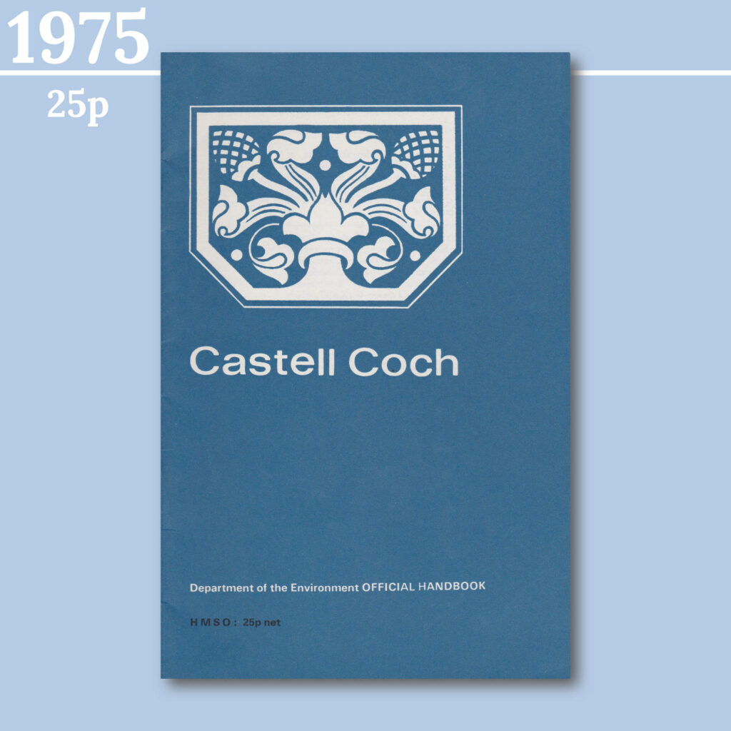 Castell Coch guidebook from 1975