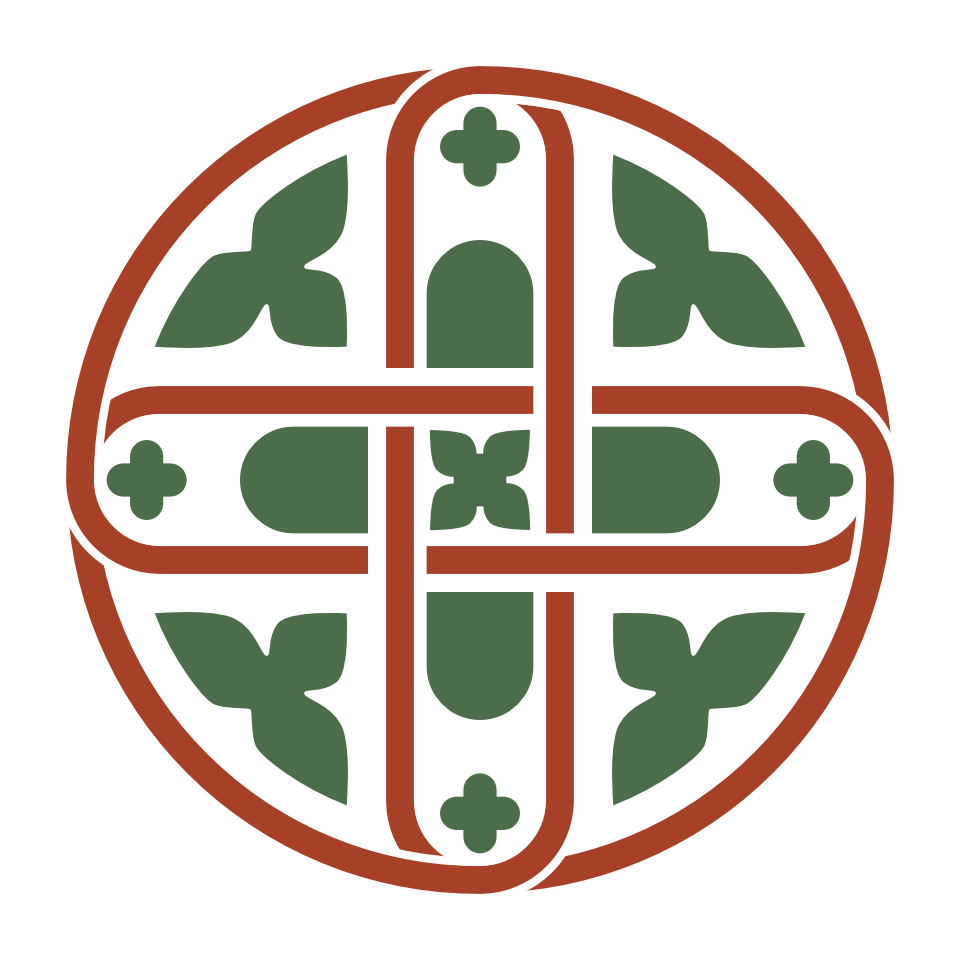 Illustration of a pattern found in Castell Coch